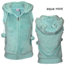 Load image into Gallery viewer, Women Winter Hooded Plush Vest