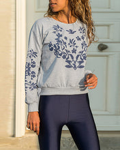 Load image into Gallery viewer, Fashion Round Neck Long Sleeve Print Sweatshirts