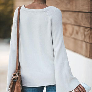 Fashion Deep V Long Sleeve Shirts