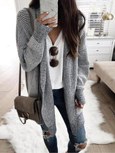 Load image into Gallery viewer, Fashion Plaids Long Sleeve Cardigans