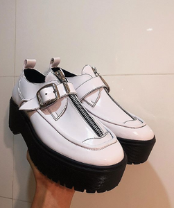 Zapatos Tiny Charol Blanco