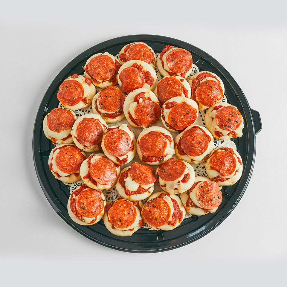 Mini Pizzas de Pepperoni