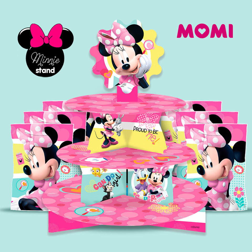 Minnie Mouse: Stand y Bolsas