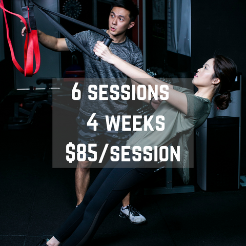 Personal Training Subscription (6 sessions / 4 weeks)