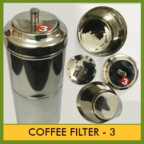 Stainless Steel Coffee filter # 3