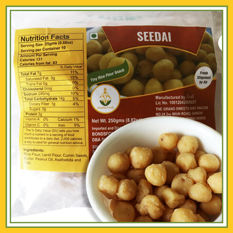 Grand Sweets & Snacks - Seedai (250 Gms)