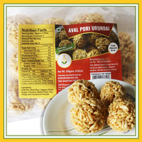 Grand Sweets & Snacks - Aval Pori Urundai (Sweet Flattend Rice) (250 Gms)