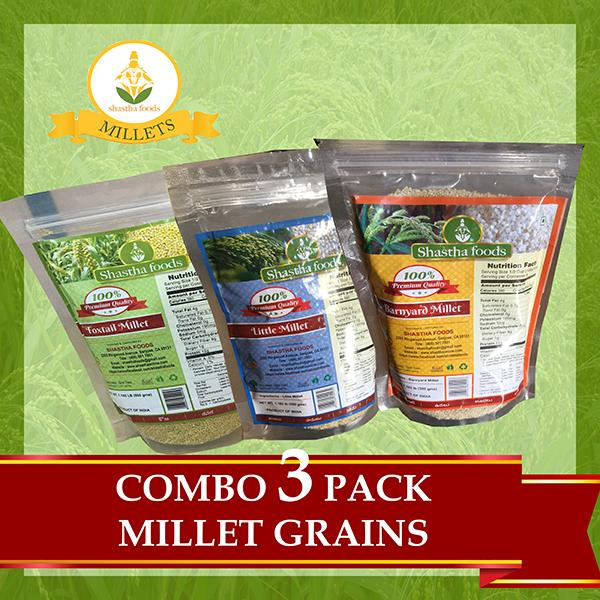Millets Offer 2: Barnyard, Foxtail and Little