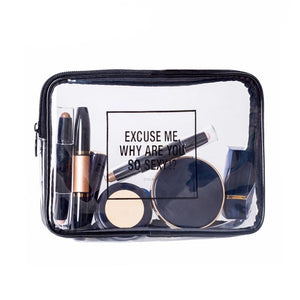 'Why Are You So Sexy!' Makeup/Toiletry Bag - The Traveler's Essentials