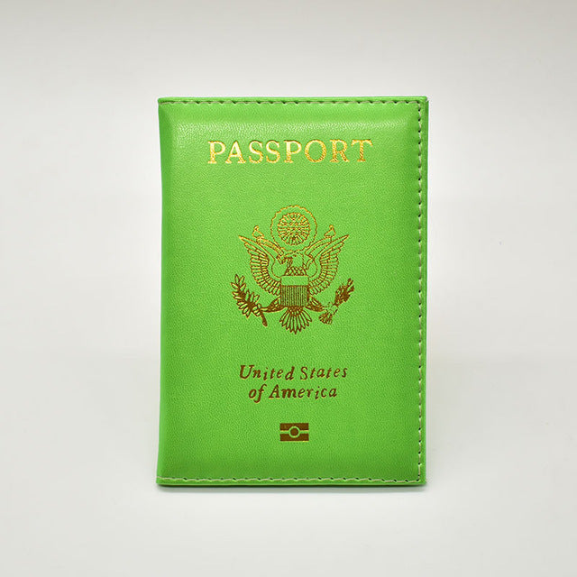 Fashion USA Leather Passport Case - The Traveler's Essentials