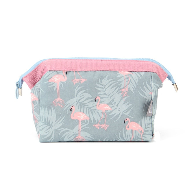Patterned Makeup/Toiletry Bag - The Traveler's Essentials