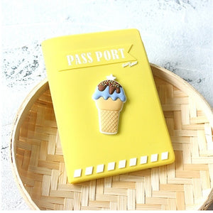 Ice Cream Passport Cover - The Traveler's Essentials