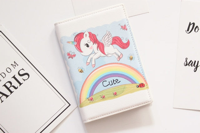 Rainbow Unicorn Passport Cover - The Traveler's Essentials