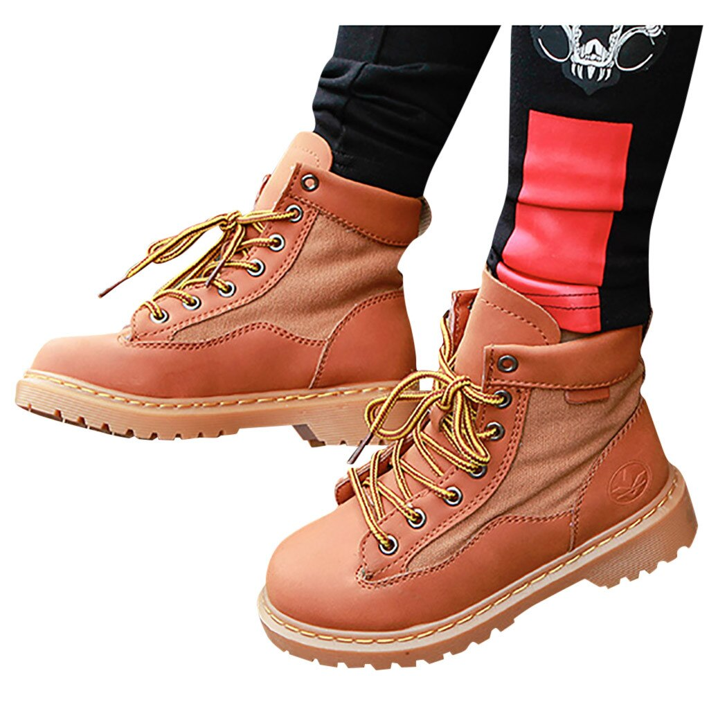 Kids Winter Boots With Rubber Sole