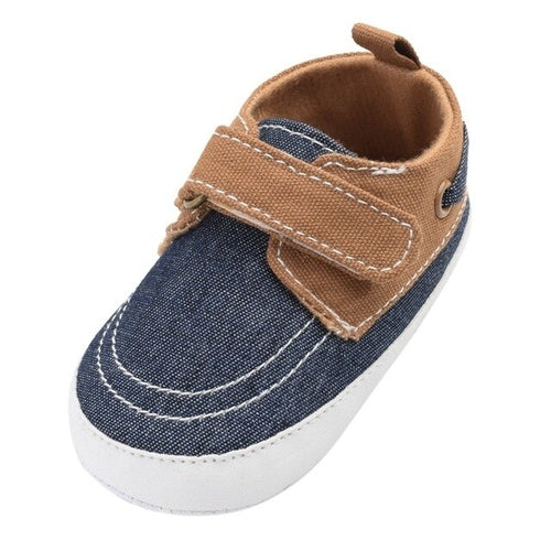 Causal Topsider Velcro Shoe (Infant/Toddler)