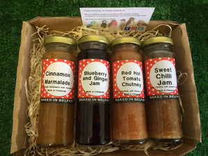 Four Jar Hamper
