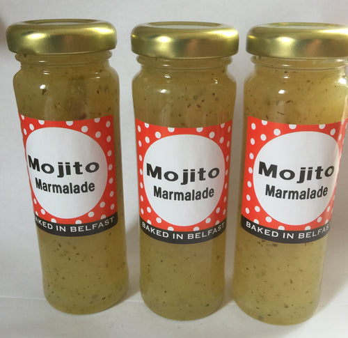 Mojito Marmalade. Set of 3 Jars