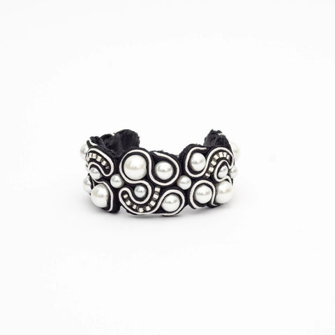 Bracelet - Black and white