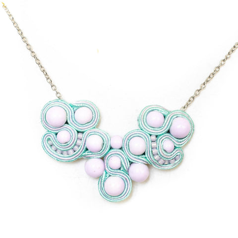 Pastel Purple Necklace
