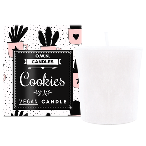 Votive Candle - Cookie