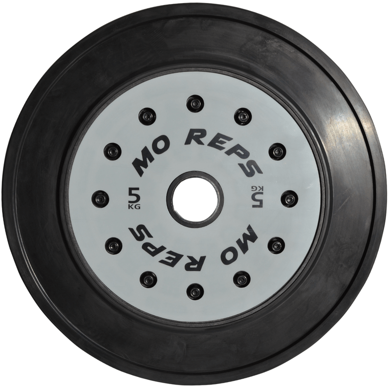 The Chief 150kg Bumper Plate & Barbell Package