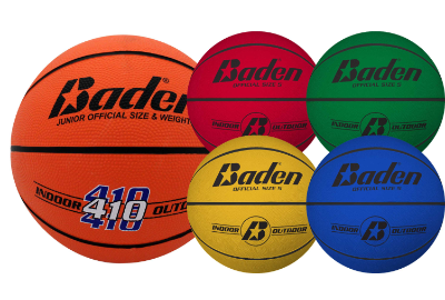 Baden Classic Rubber Basketball - Size 5 Junior Colour Options