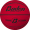 Baden Classic Rubber Basketball - Size 6 for ages 10 and up - red