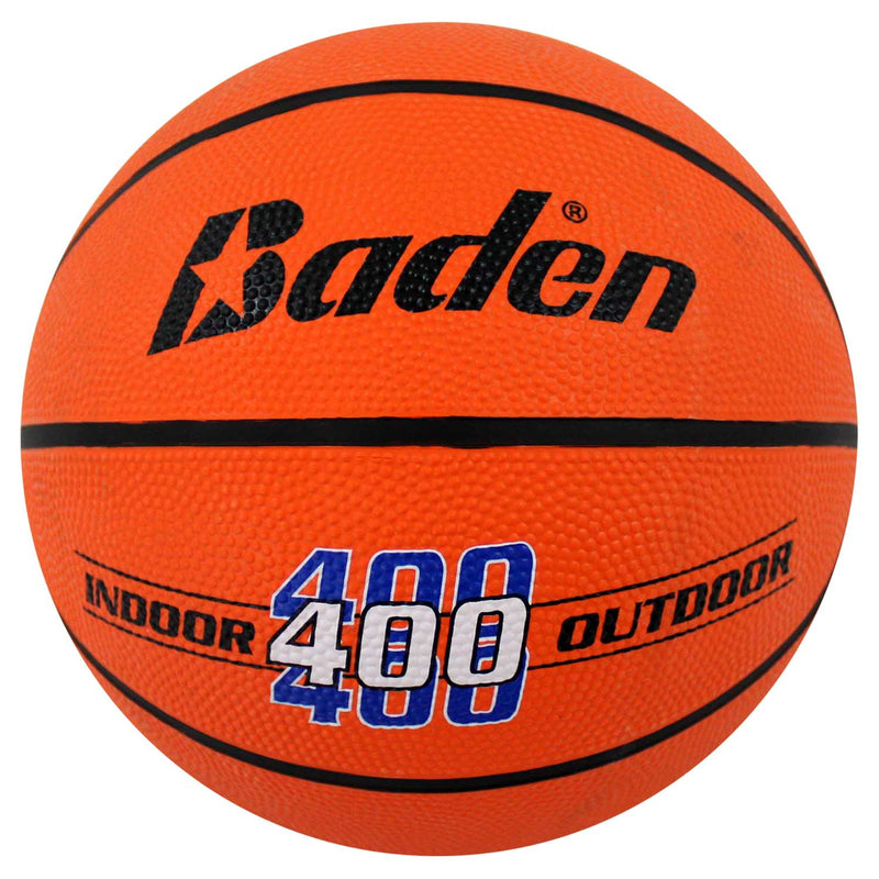 Baden Classic Rubber Basketball - Size 7 for ages 15 and up - orange