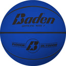 Baden Classic Rubber Basketball - Size 7 for ages 15 and up - blue