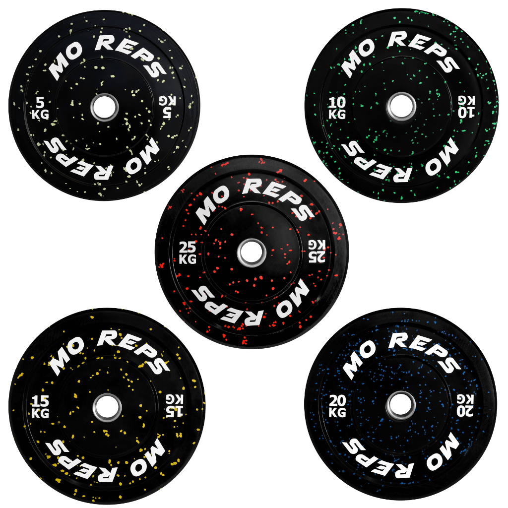 Bumper Plates With Colour Specks