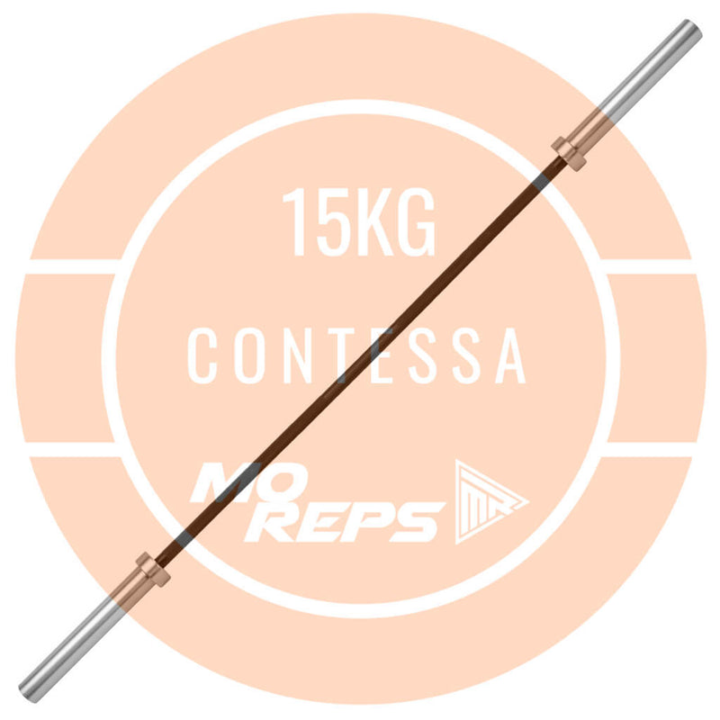 Contessa Olympic Barbell 15kg - MO REPS® Fitness Store
