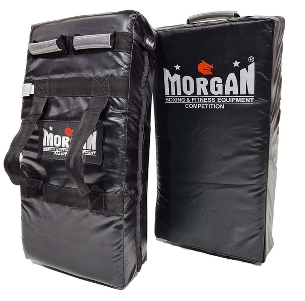 Morgan Competition Extra Heavy Duty Multi-Handle Curved Strike & Hit Shield - MO REPS® Fitness Store