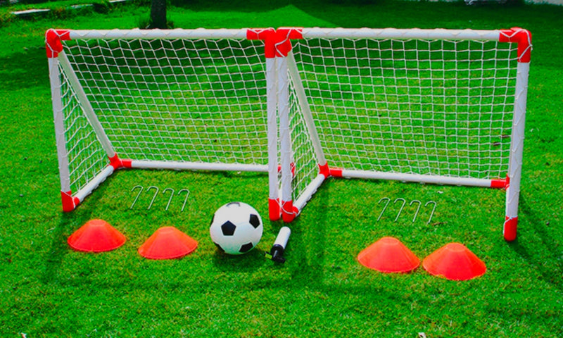Outdoor Play Mini Soccer Set