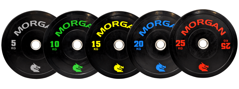 Morgan 150kg Olympic Bumper Plate Pack