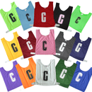 Netball Bib Set-Multi Coloured Netball Bibs