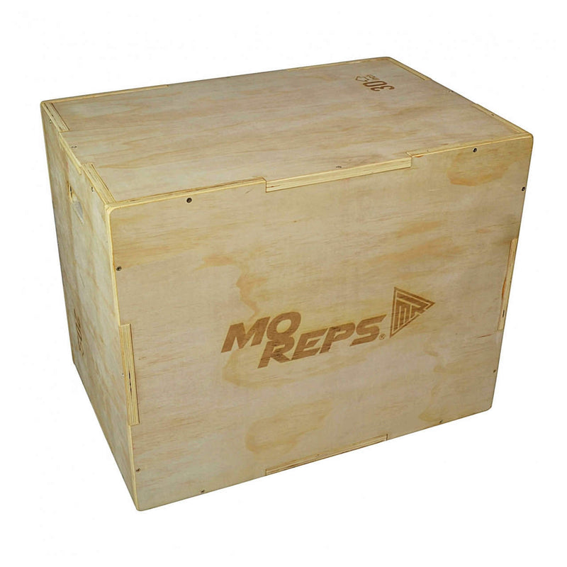 Wooden Plyometric Box 3-in-1 - MO REPS® Fitness Store