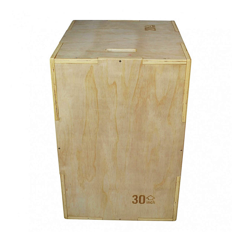 Wooden Plyometric Box 3-in-1