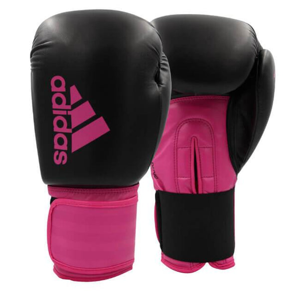 Adidas Hybrid 100 Dynamic Fit Pink Boxing Gloves - 10oz-MO REPS® Fitness Store