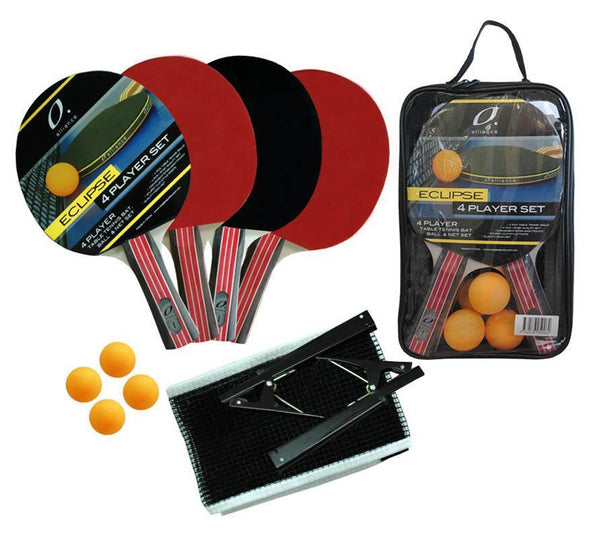 Alliance 4 Player Eclipse Table Tennis Set-MO REPS® Fitness Store