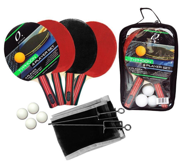 Alliance 4 Player Typhoon Table Tennis Set-MO REPS® Fitness Store