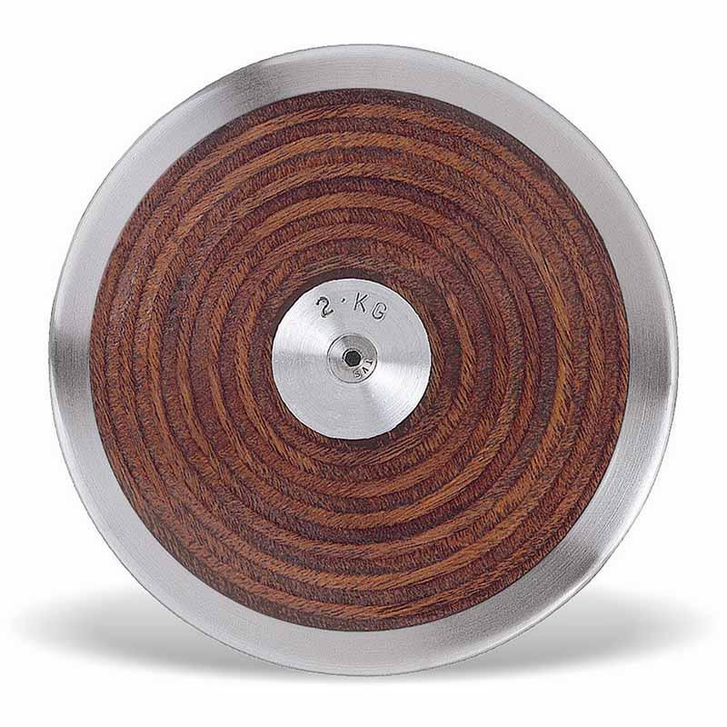 Alliance Discus - Wooden Low Spin 70%-2000g/2kg-MO REPS® Fitness Store