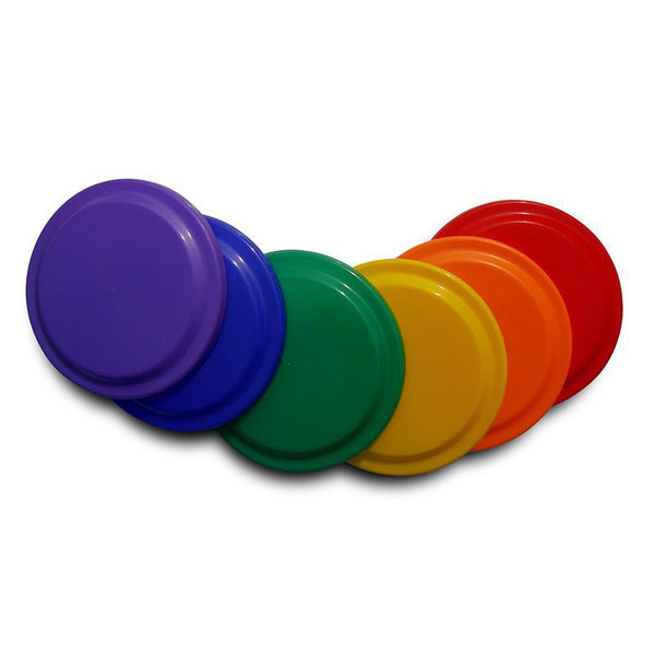 Alliance Frisbee - Set Of 6 Colours-MO REPS® Fitness Store