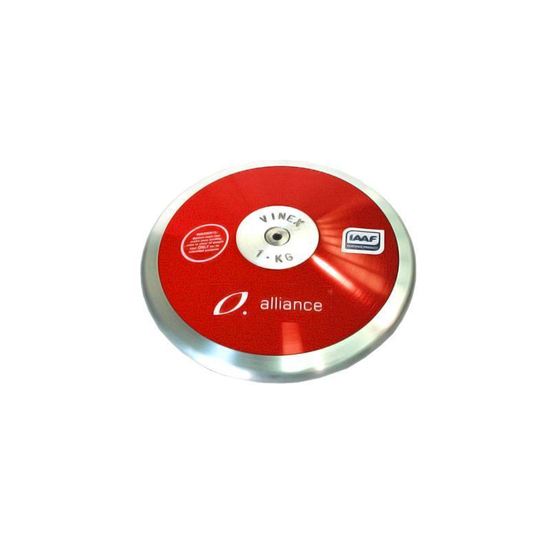 Alliance IAAF Discus - Synthetic-1000g/1kg-MO REPS® Fitness Store