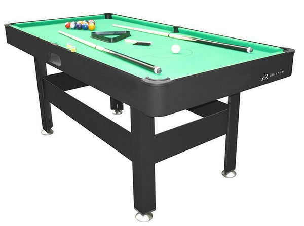 Alliance Pool Table 6Ft - Green-MO REPS® Fitness Store
