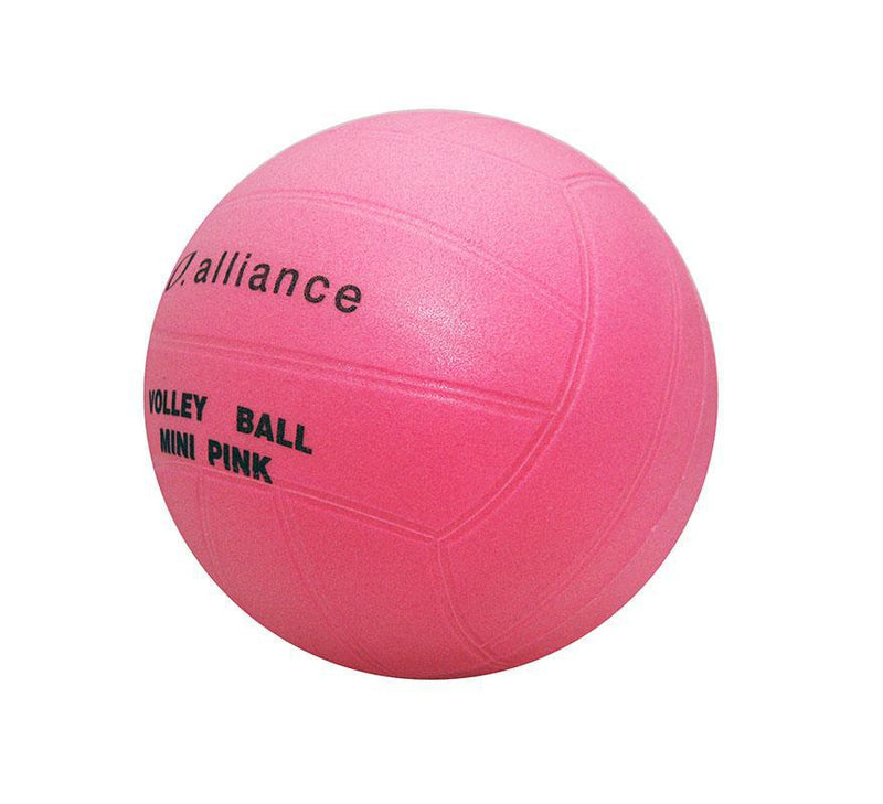 Alliance PVC Mini Pink Volleyball-MO REPS® Fitness Store