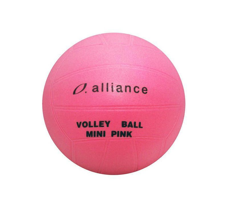 Alliance PVC Mini Pink Volleyball-6 Inch-MO REPS® Fitness Store