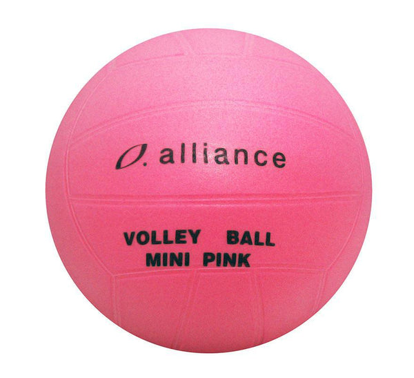 Alliance PVC Mini Pink Volleyball-8 Inch-MO REPS® Fitness Store