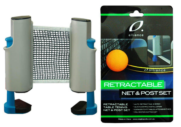 Alliance Retractable Net And Post Set-MO REPS® Fitness Store