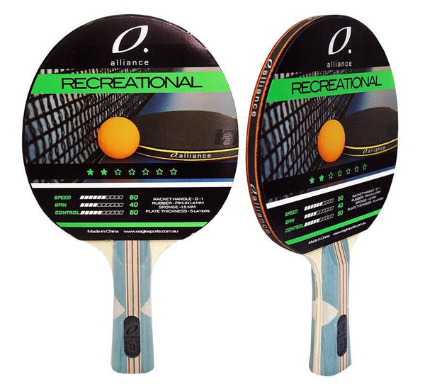 Alliance Typhoon 2 Star Table Tennis Bat-MO REPS® Fitness Store