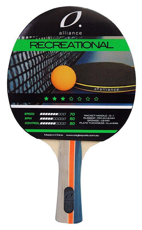 Alliance Typhoon 3 Star Table Tennis Bat-MO REPS® Fitness Store